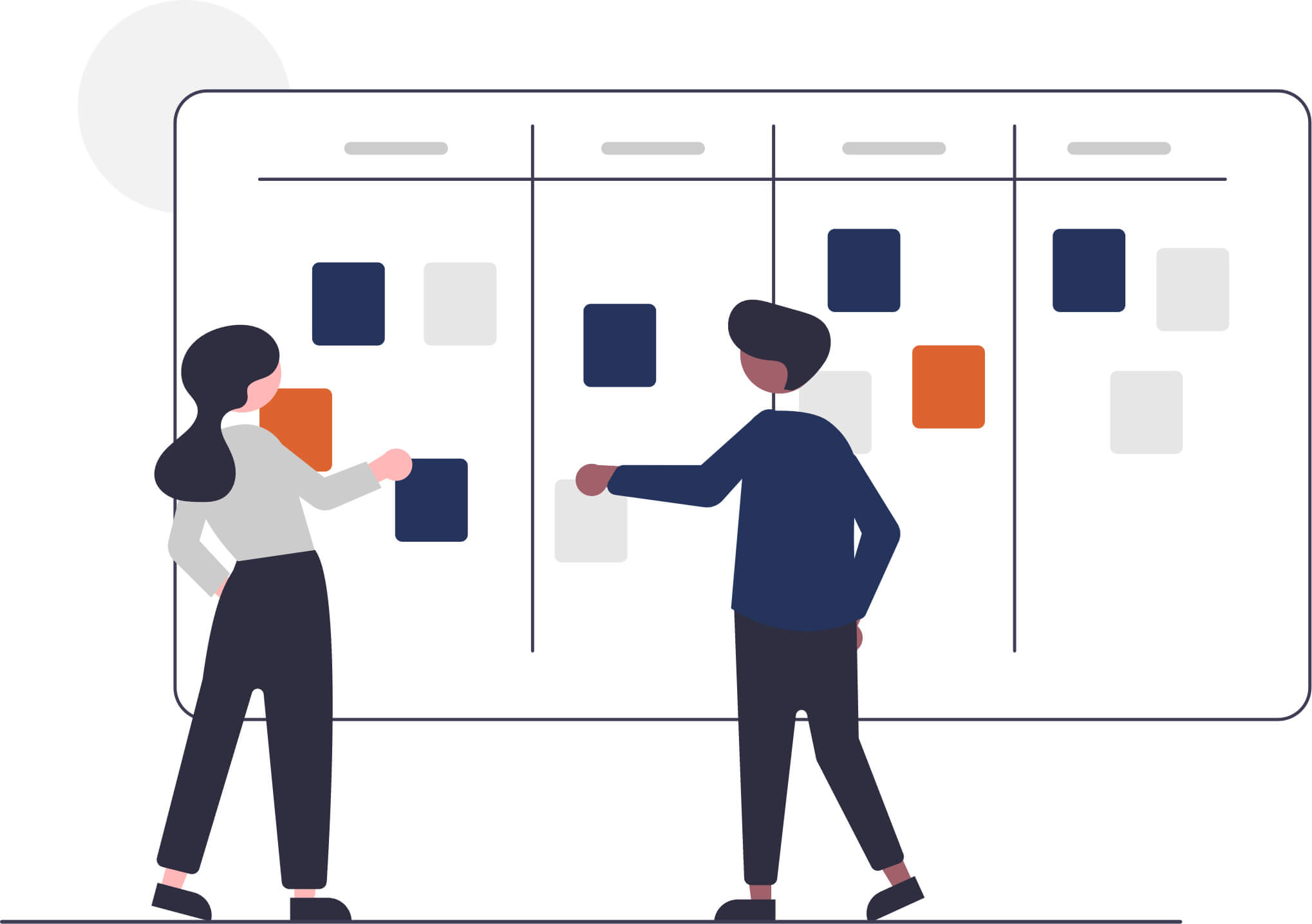 Wall Chart Illustration